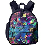 Splatter And Skull Pattern Stock Vector - 22809546 Print Lightweight Toddler Backpack Shoulder Bag School Backpack For Kids