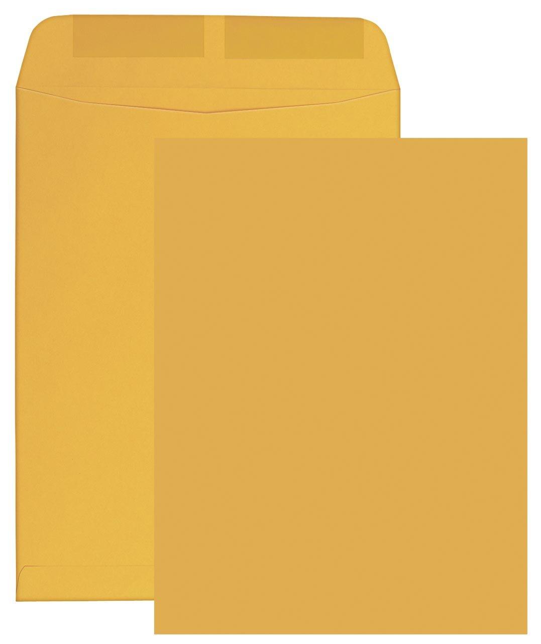 Columbian Catalog Envelopes, Gummed Seal, 6'' x 9'', Brown Kraft, 500 Per Box (CO645) by Columbian Envelopes