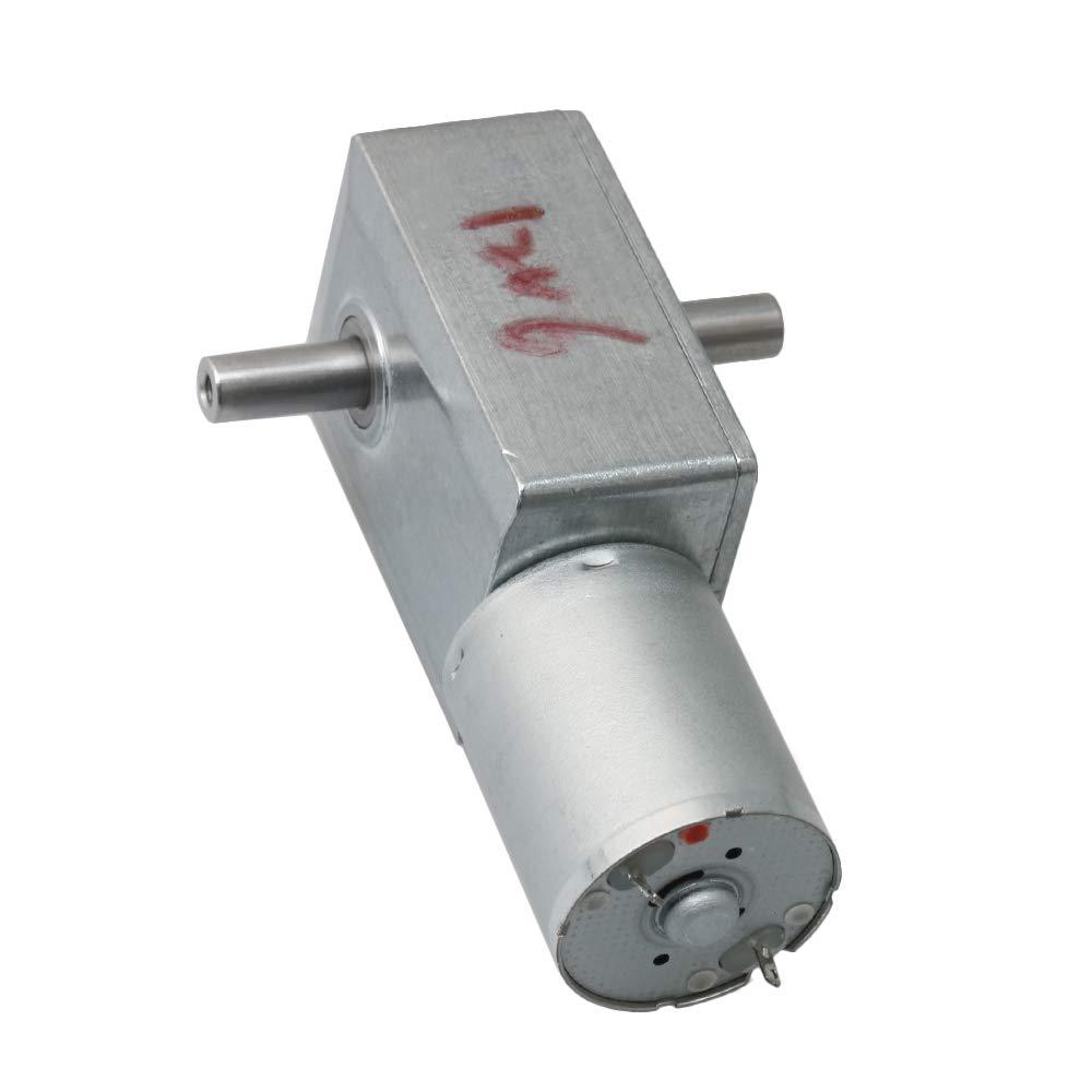 12 V R/éducteur de vitesse /électrique DC JGY370 10 tr//min Moteur /à turbine r/églable argent/é BQLZR