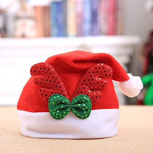 Gotian Christmas Holiday Hat Great for Holiday Party Christmas Decorations Pack of 1 (B) -