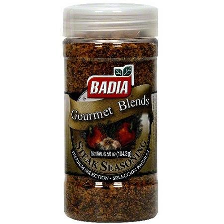 BADIA Steak Seasoning, 6.5 OZ(Pack of 2)