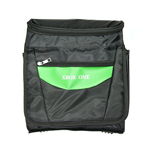 OSTENT Travel Carry Protective Shoulder Bag Pack Case Compatible for Microsoft Xbox One Console