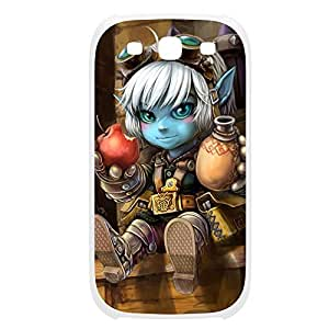 Tristana-006 League of Legends LoL case cover HTC One M8 Plastic White