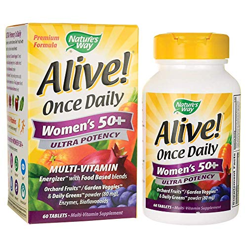 Nature's Way Alive! Once Daily Women's 50 Plus Ultra Potency - 60 Tablets