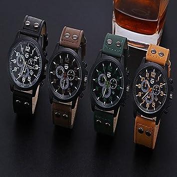 Relojes de lujo de los hombres Liandu marca deportiva estilo mira el reloj de cuarzo de