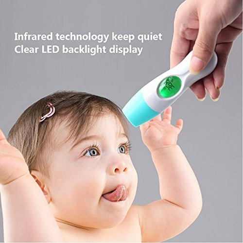 New arrival sealive child Baby LCD Digital Multifunctional Thermometer ,Infrared For Ear Body Forehead temperature with silence,family use