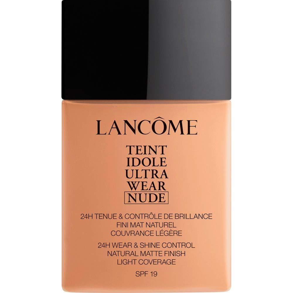 [Lancme ] ランコムTeintのIdole超摩耗ヌード財団Spf19の40ミリリットル048 - ベージュChataigne - Lancome Teint Idole Ultra Wear Nude Foundation SPF19 40ml 048 - Beige Chataigne [並行輸入品] B07S95RCSQ