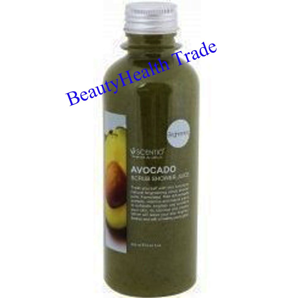 Scentio Avocado Brightening Scrub Shower Juice 250 ML.(Beautyhealth Trade)