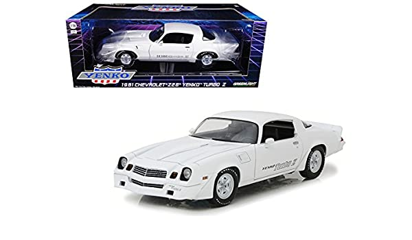 Amazon.com: Maisto 1981 Chevrolet Camaro Z/28 Yenko Turbo Z White 1/18 Model Car by Greenlight: Home & Kitchen