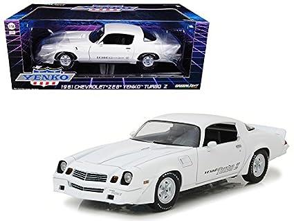 Maisto 1981 Chevrolet Camaro Z/28 Yenko Turbo Z White 1/18 Model Car