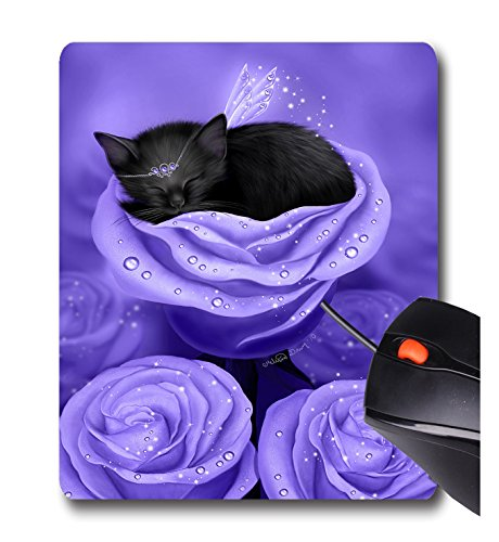 AOFFLY Melissa Dawn - Lilac Daydreams - Non-Slip Rubber Mousepad Gaming Mouse - Lilac Daydream
