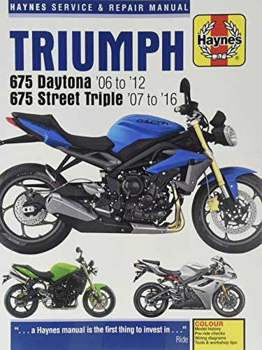 Triumph Daytona & Speed Triple, '06-'16 (Haynes Powersport)