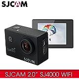 SJCAM Dasenlon Original SJ4000wifi Action Video Camera, 30M Waterproof Wifi Sport Camera with Featured APP (Black)