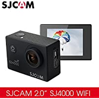 BOLAN-MALL Original SJCAM SJ4000wifi Action Video Camera, Wifi Sport Camera / 30M Waterproof Underwater Diving Sport DV Camera (Black)