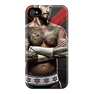 Jrhoder Scratch-free Phone Case For Iphone 6- Retail Packaging - Wwe Cm Punk