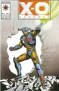 X-O Manowar #11 December 1992