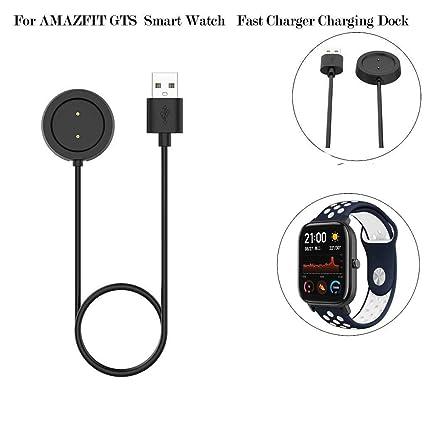 Amazon.com: 1KTon para AMAZFIT GTS Smart Watch cargador ...