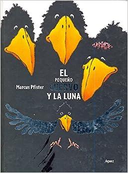 Book El Pequeno Cuervo y La Luna