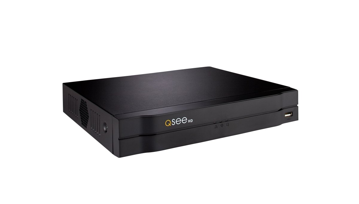 Q-see 4CH 1080p IP NVR 4 POE W/O HDD