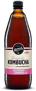 Remedy Organic Kombucha Raspberry Lemonade, 750ml