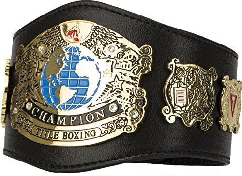 Undisputed Champion Mini Title Belt, Black ()