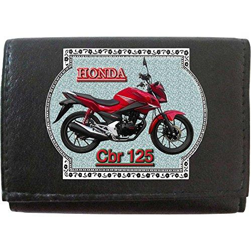 HONDA Cbr125 Klassek Leder Schlüsseletui Schlüsselleiste mit Haken Motorrad Zubehör Bike