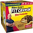 FITCRUNCH Snack Size Protein Bars   Designed by Robert Irvine   World's Only 6-Layer Baked Bar   Just 3g of Sugar & Soft Cake Core (18 Count)