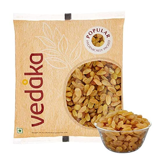 Amazon Brand - Vedaka Amazon Brand Popular Raisins, 500g