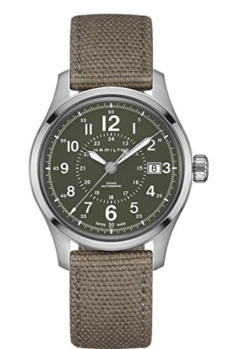 Hamilton汉密尔顿 Khaki Field Automatic Mens Watch - Green Dial