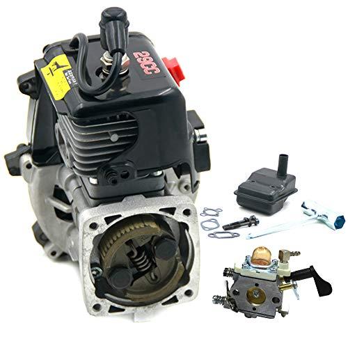 FLMLF 29CC 2 Stroke 4 Bolt Engine Motor for 1/5 Hpi Baja Lois 5ive-T DBXL FG GoPed ...