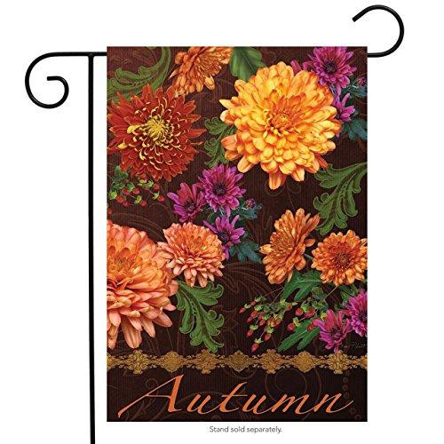 (Briarwood Lane Autumn Floral Garden Flag Mums Fall Flowers 12.5