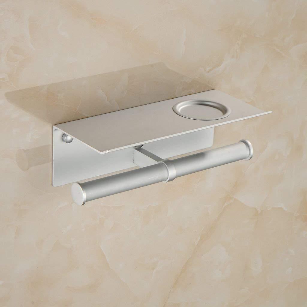 Yiyane Beautiful Kitchen & Bathroom Aluminum - Handle Multi-Functional Rack Paper Body Care