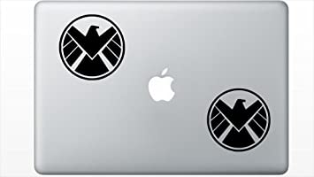 Marvel The Avengers Shield Logo Vinyl Car Window Laptop Decal Sticker