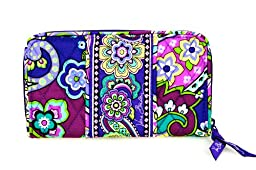 Vera Bradley Accordion Wallet (Heather)