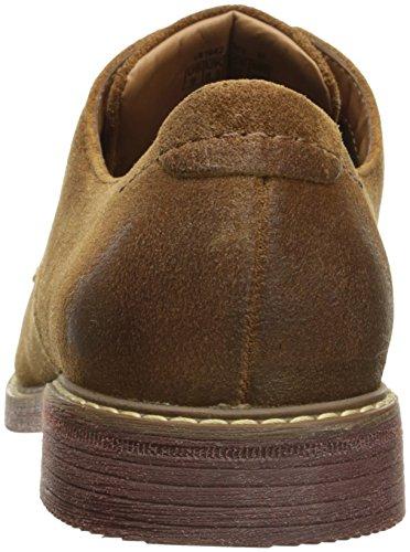 Rockport Men's Classic Break Plain Toe Oxford Cognac Suede choice outlet reliable cheap authentic Qst7qY0myz