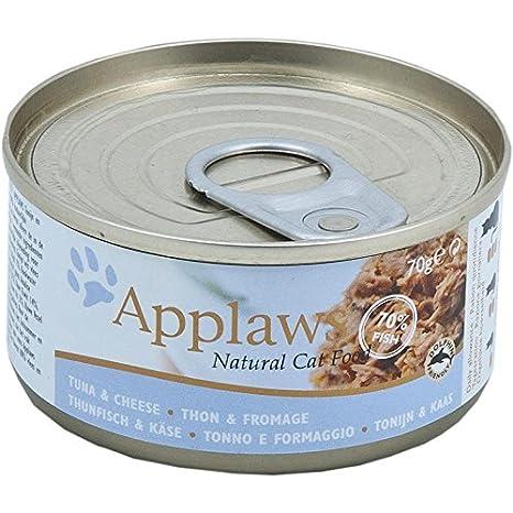 Applaws Lata para comida de gato (24 x 70 g, 1680 g)