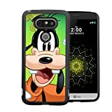 A Goofy Movie LG G5 Case, Onelee [Never fade] Disney Goofy & Mickey Mouse LG G5 Black TPU and PC Case [Scratch proof] [Drop Protection]
