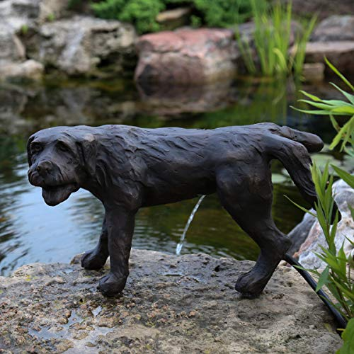 Aquascape Naughty Dog Spitter Fountain for Ponds and Water Gardens | 78310