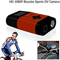 Multi function HD 1080P Bicycles Sports DV Camera with Powerbank 5.0MP Video Recording Action Cam