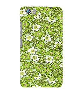 Lotus Flower 3D Hard Polycarbonate Designer Back Case Cover for Micromax Canvas Fire 4 A107