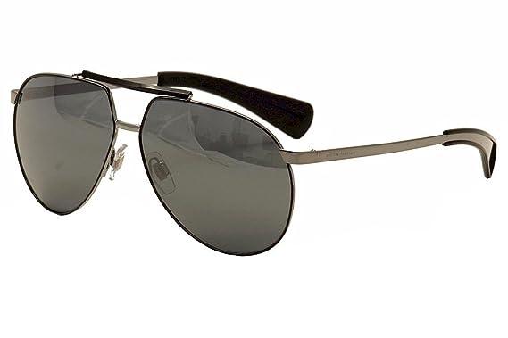 9d746815019e Amazon.com  Dolce   Gabbana Sunglasses 2152 04 6G Ruthenium Silver ...