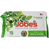 Jobe's Tree and Shrub Fertilizer Spikes, 15 Pack