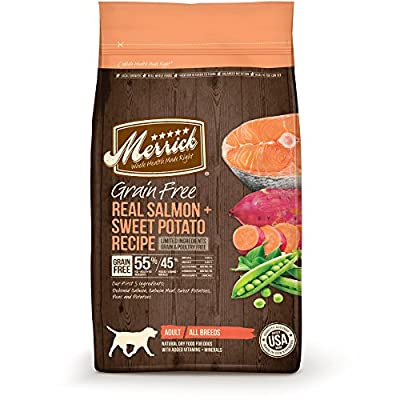 Merrick Grain Free Dry Dog Food Salmon & Sweet Potato from Blue Wilderness
