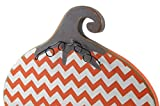 Primitives by Kathy Decorative Chevron Stand-Up Pumpkin Fall Halloween Thanksgiving