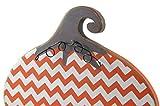 Decorative Chevron Stand-Up Pumpkin Fall Halloween Thanksgiving