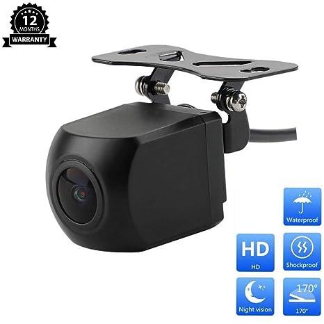 Car & Truck Parts 170° Ntsc Night Vision Waterproof Car Front View Reverse Backup Camera Universal
