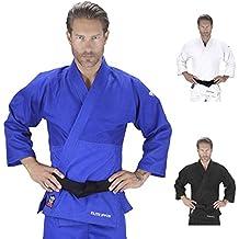 Elite Sports New Item Deluxe Adult IJF Judo Gi w/Preshrunk Fabric & Free Belt