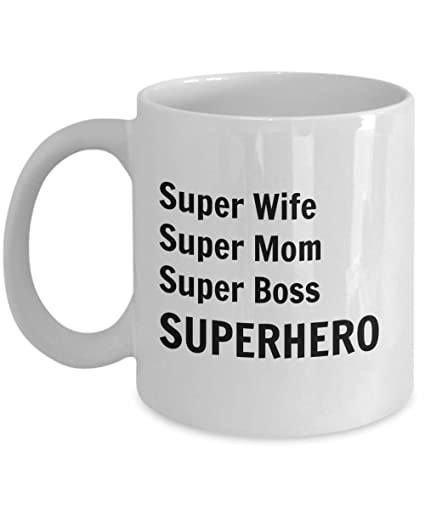 boss gifts for women super wife super mom super boss superhero perfect funny gifts
