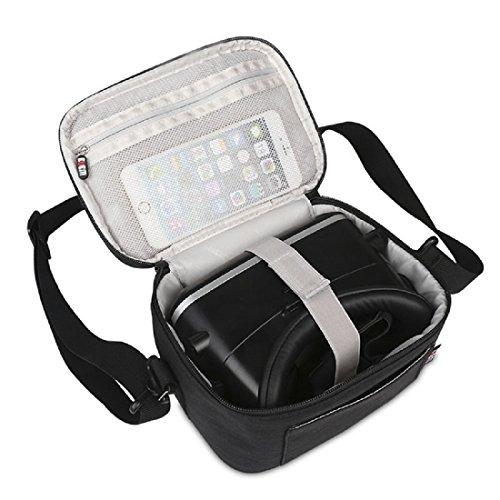 VRB-1 3D VR Glasses Headset Case With Shoulder Strap Virtual Reality Headset 3D Glasses, VR BOX, VR PRO, 3D Glasses, VR Headset, Travel Organizer Bag