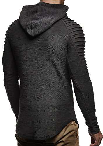 Leif Nelson Mens Pullover Hoodie Long Sleeve t-Shirt Sweater Slim fit Sweatshirt by Leif Nelson (Image #2)